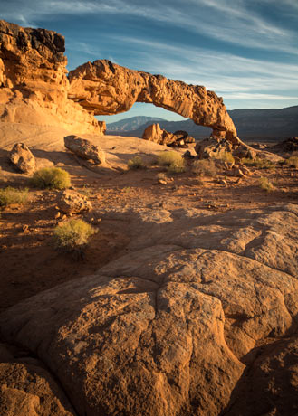 Sunset Arch, Grand Staircase Escalante National Monument, Utah