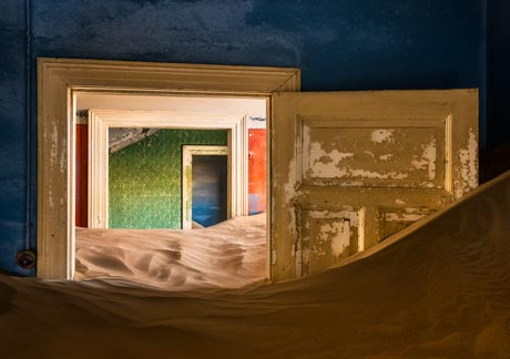 Kolmanskop, Namibia Tour