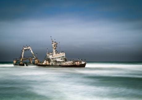 Zeila Shipwreck, Namibia