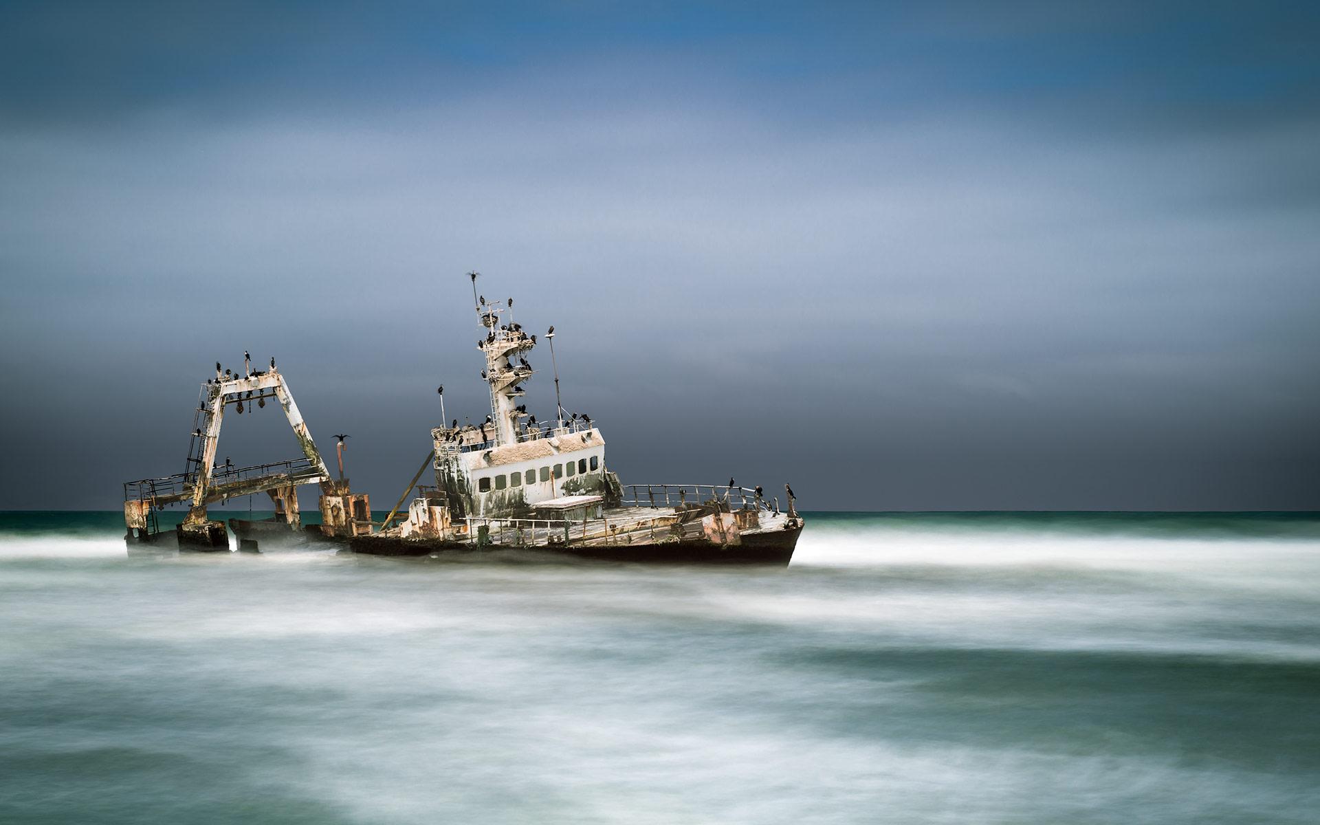 Zaila Shipwreck, Namibia