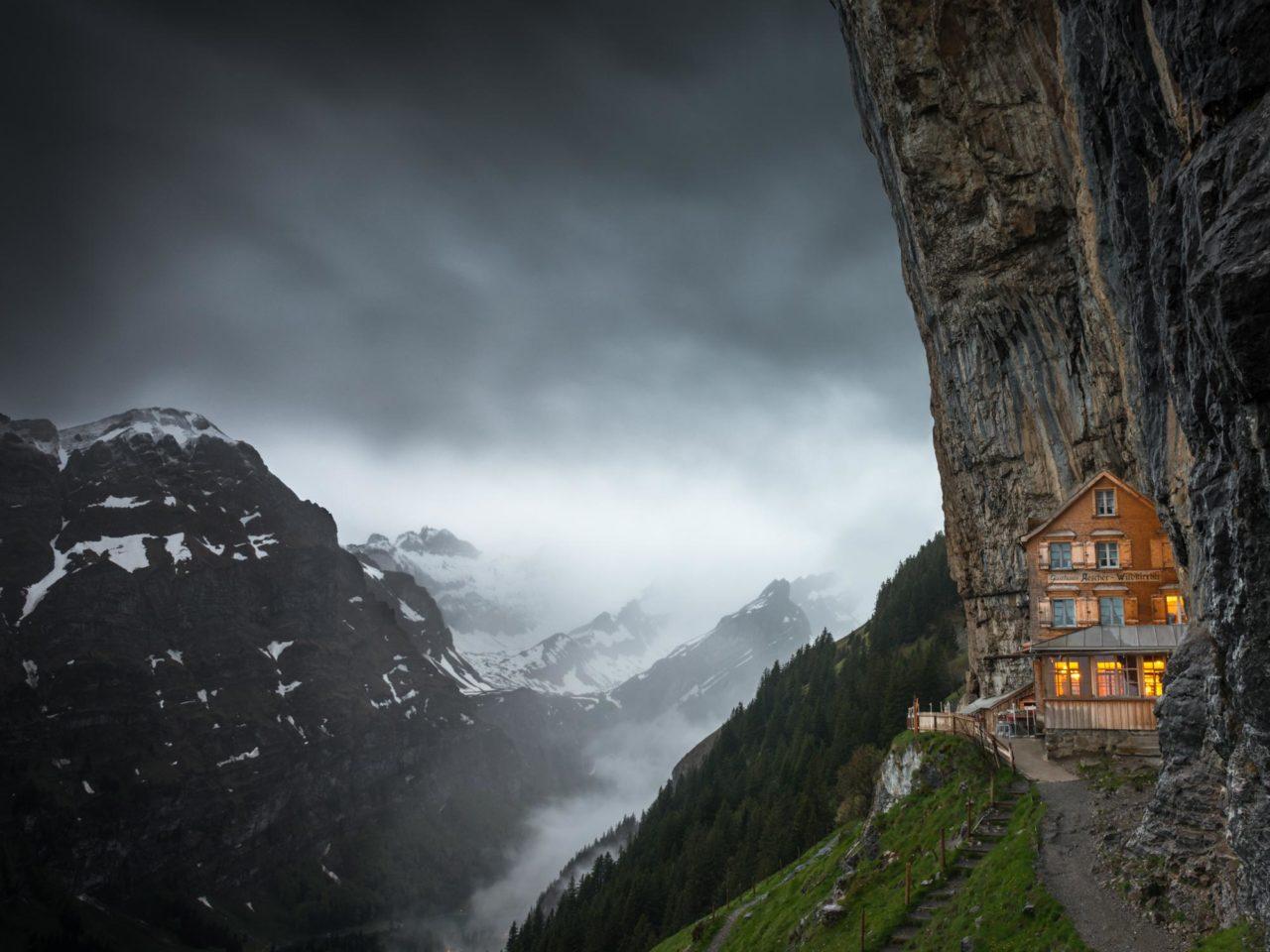 Gasthaus Aescher Wildkirchli, Switzerland