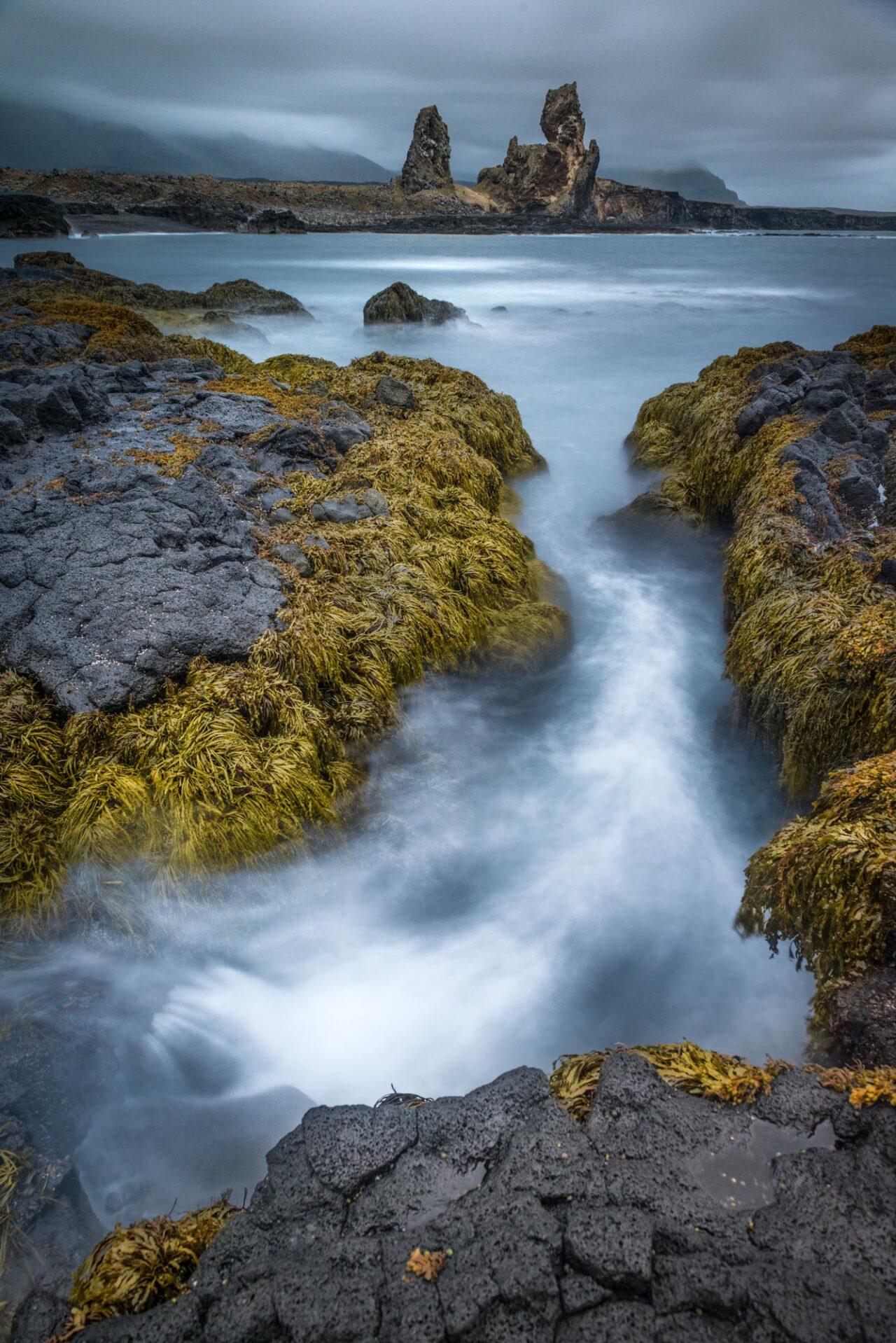 Landrangar Basalt Cliffs, Iceland