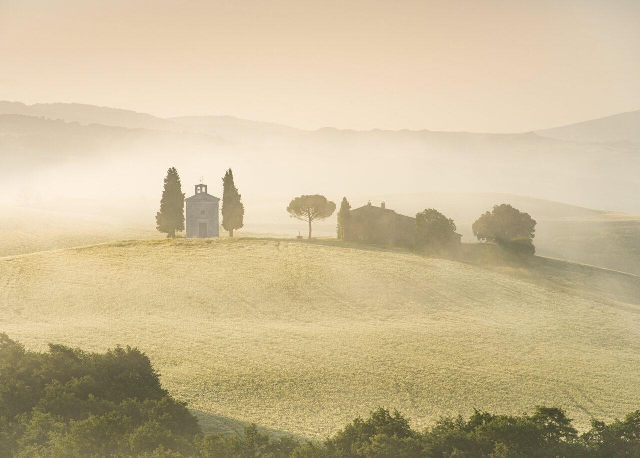 Cappella della Madonna di Vitaleta, Tuscany, Italy