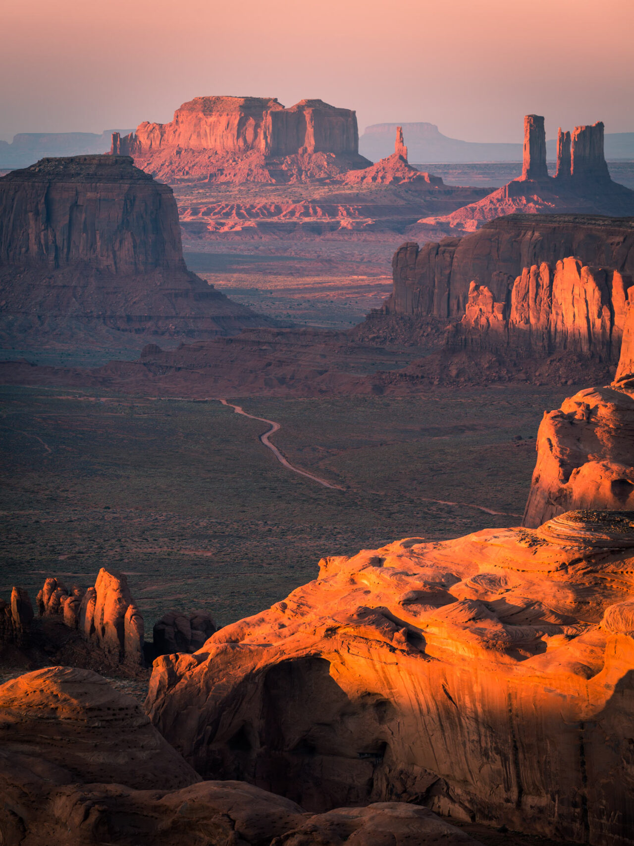 Hunt's Mesa, Monument Valley