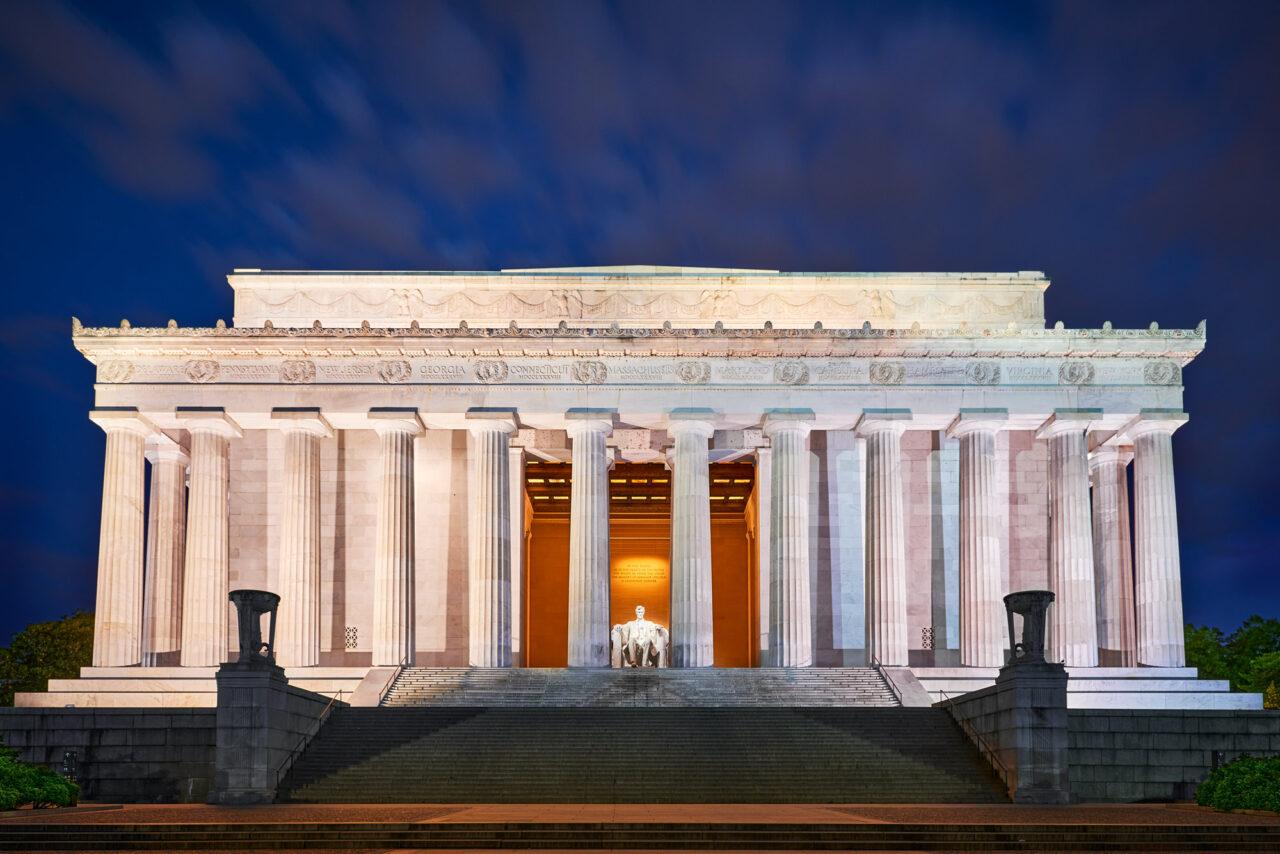 Lincoln Memorial , Washington DC, USA